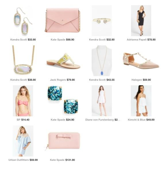 Pink and Chic Fashion Favs { Complied Shopable List of Fashion Finds }