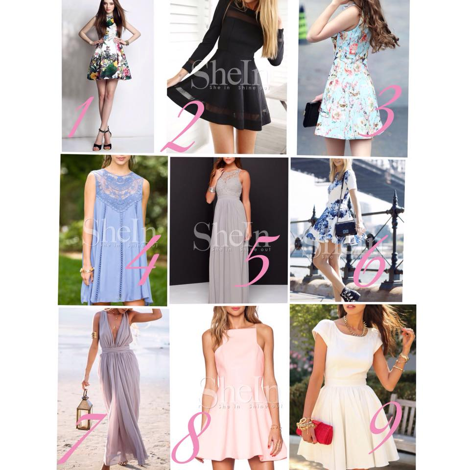 SheIn Dress Favorites