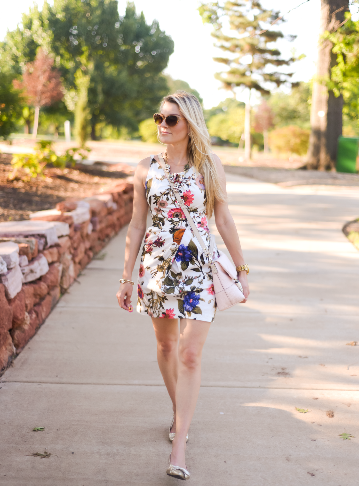 Classic & Timeless Floral Dress