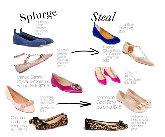 Splurge & Steal { Flats }  Oct 3