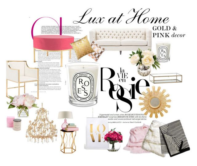 Lux at Home {Gold & Pink}