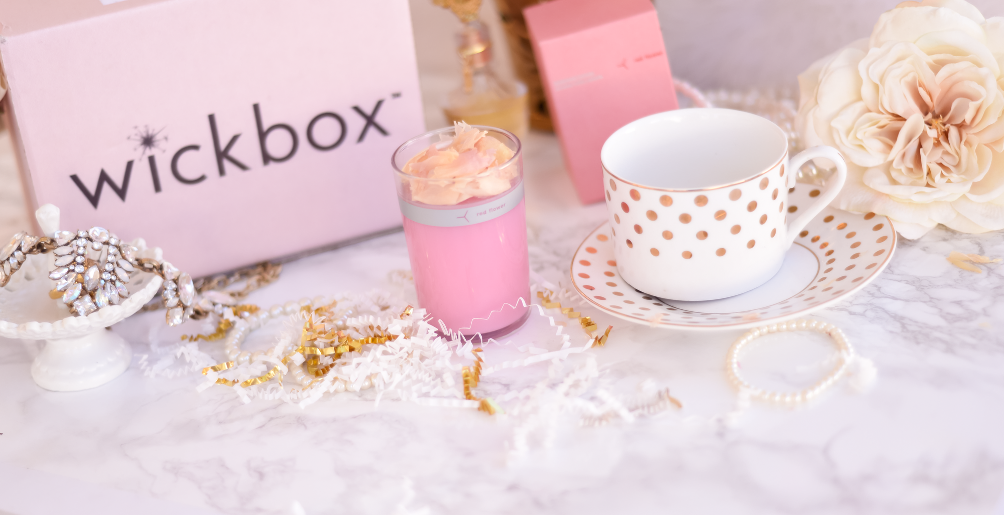 Wickbox Luxury Candle Subscription Review || The Chic Blonde