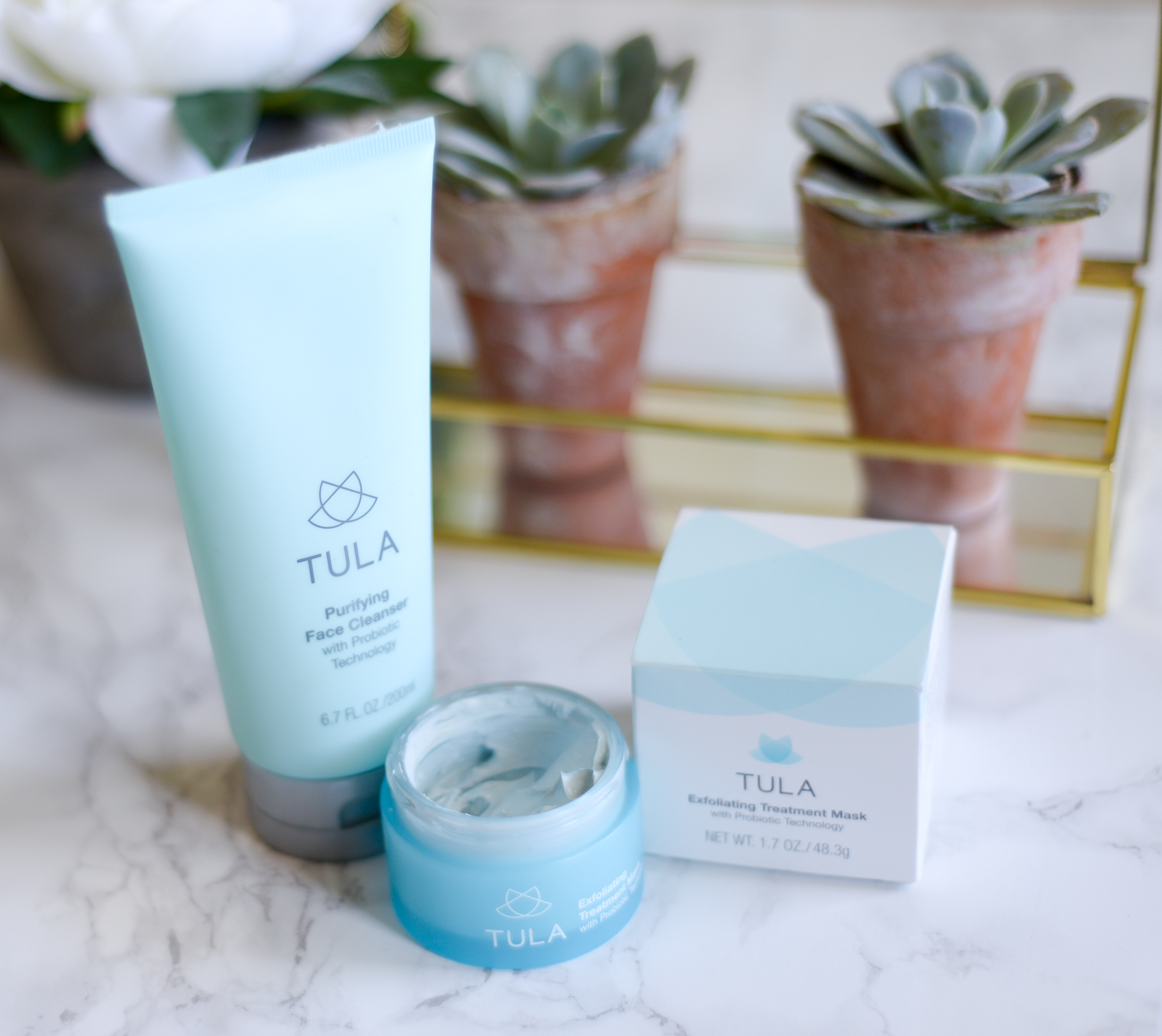 Skin Care Regimen Featuring Tula