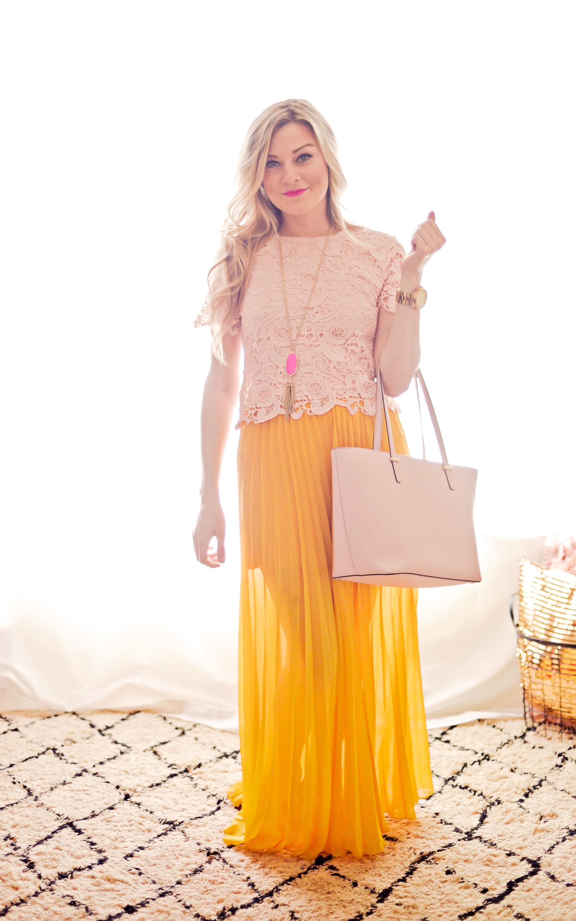 Pink Lemonade { The Chic Blonde }
