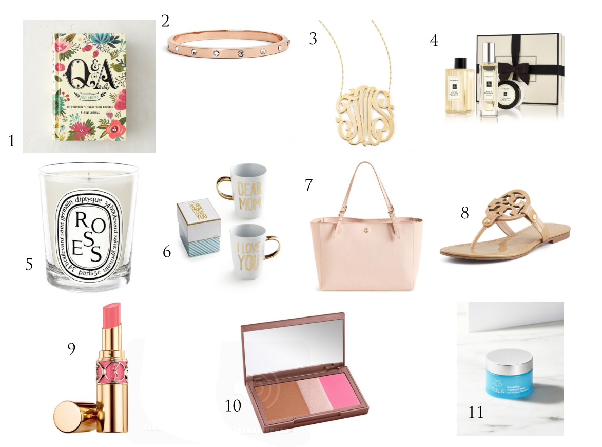 Chic and Glam gifts for MOMS