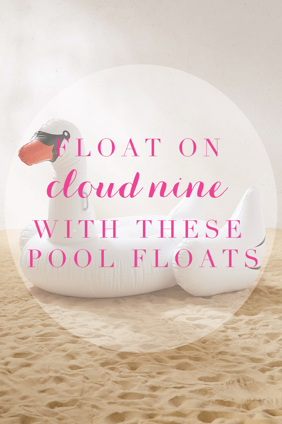 Beach Babe Floats For Summer