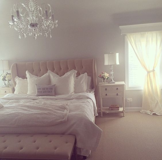 Girly Glam Bedroom Ideas: Creating A Chic & Glam Home {Bedroom Room}