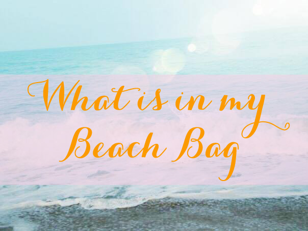 Whats 's In My Beach Bag