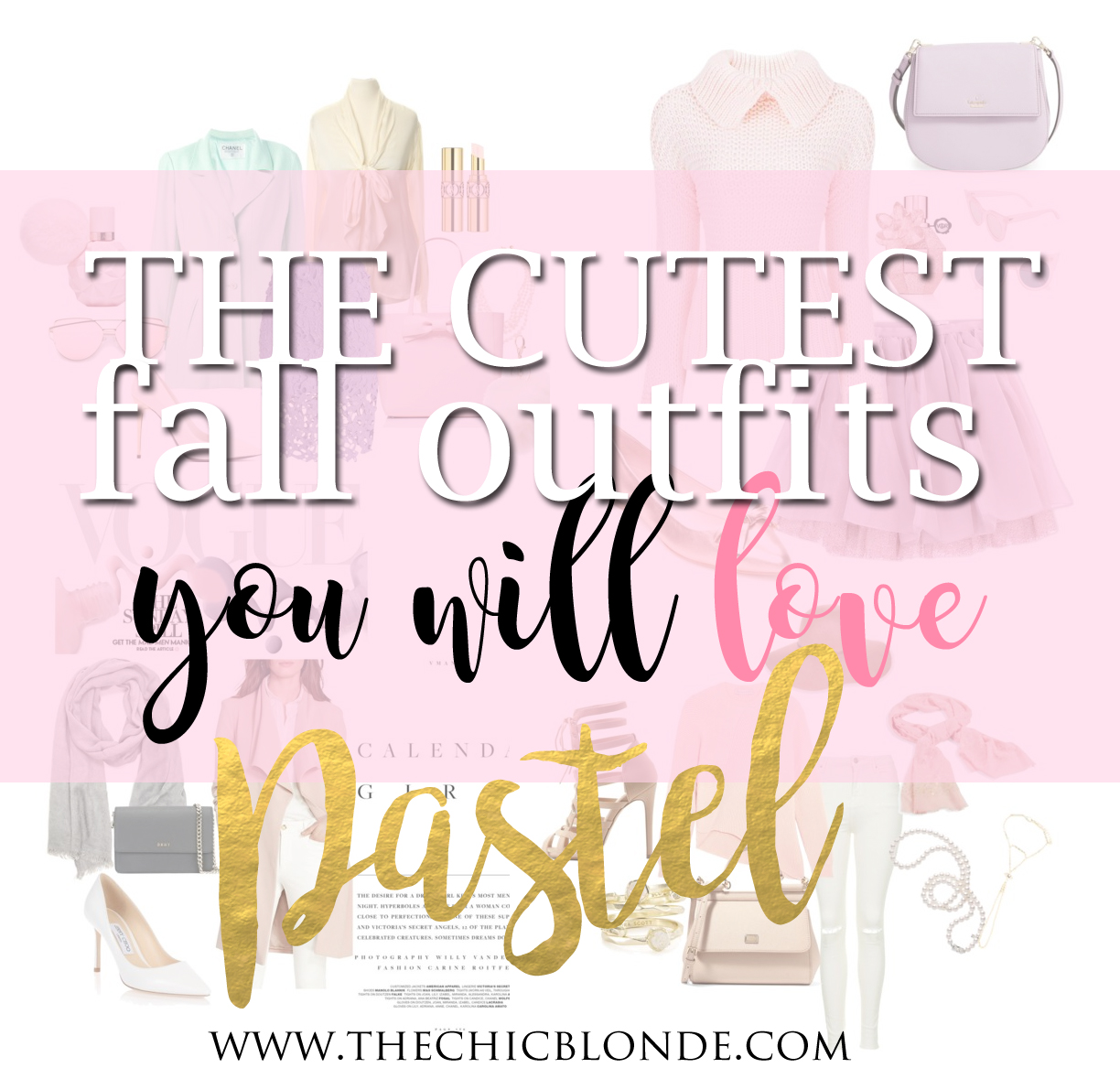 4 darling pastel fall looks you will love