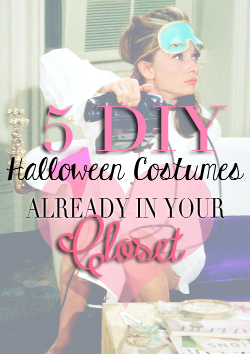 5 diy costumes already in your closet
