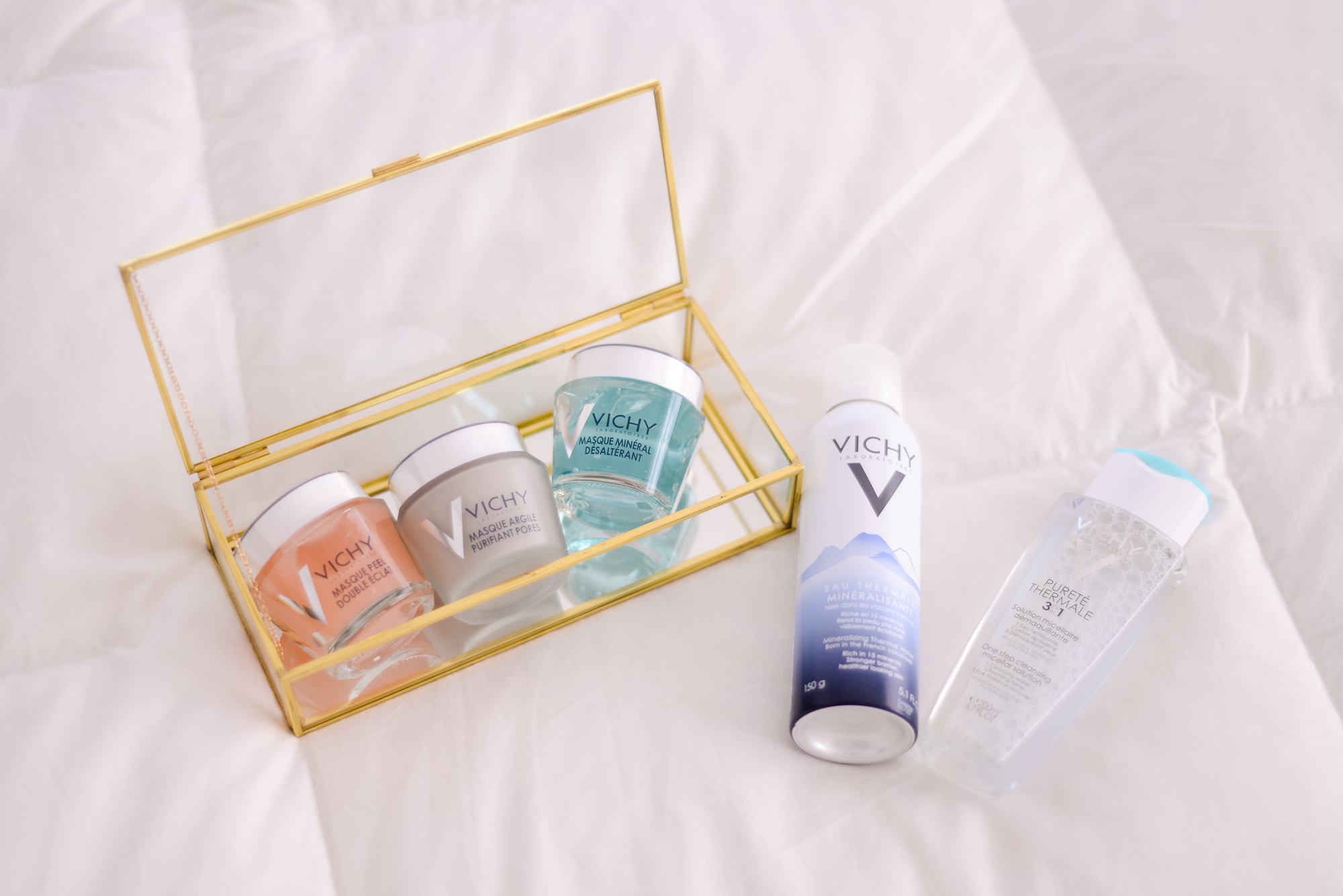 girls day with vichy face masks