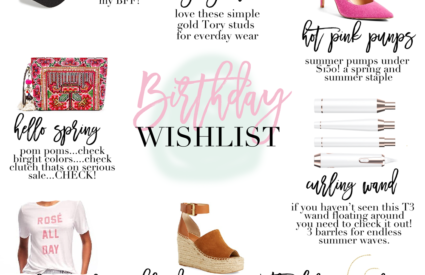 january favs | birthday picks