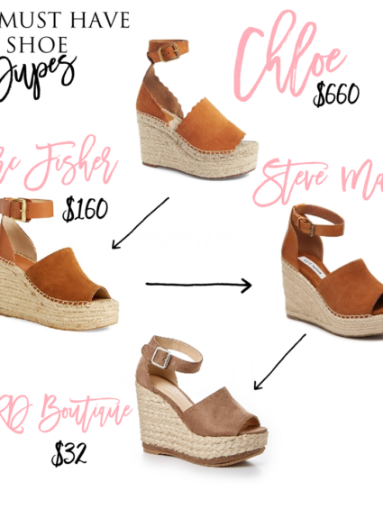 the must have shoe dupes on dupes on dupes