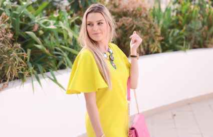 darling yellow frock || why i hate loop giveaways