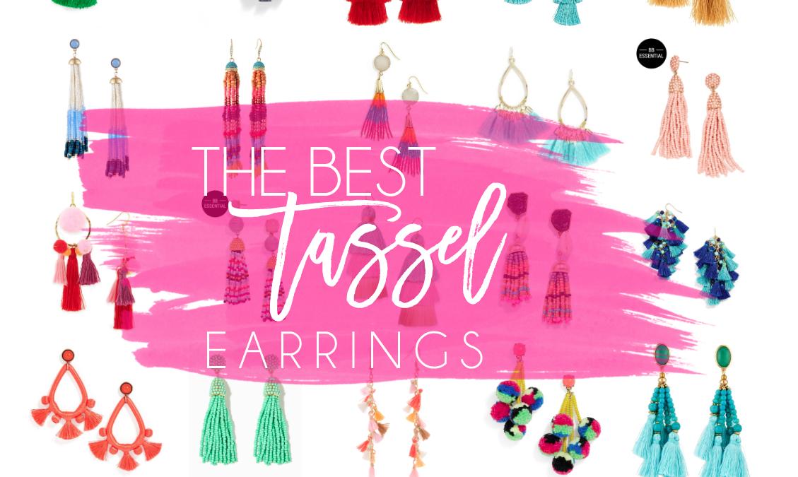 the best tassel earrings under $50