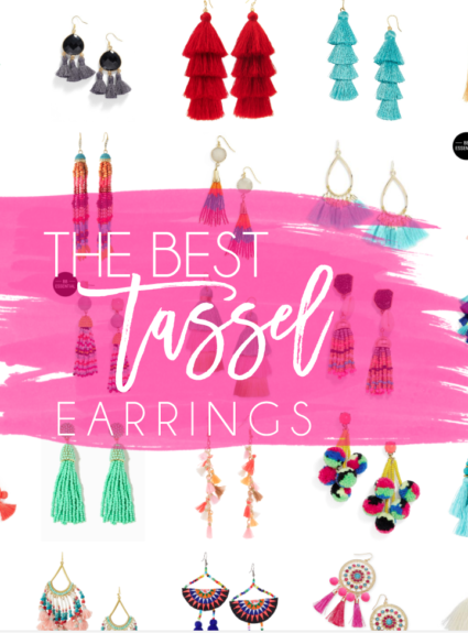 the best tassel earrings under $50