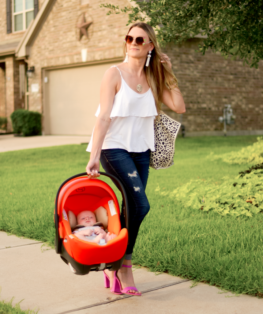 a safe, stylish, and comfortable day out with CYBEX CLOUD Q