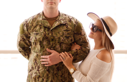 A Day In The Life of A Military Spouse with Maurices for Veterans Day