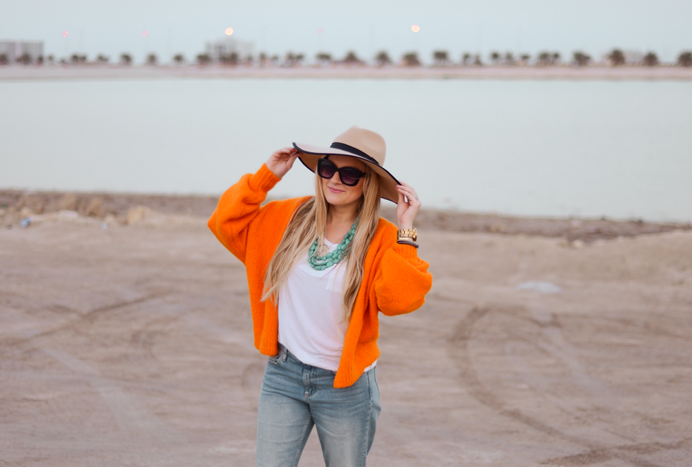 Orange is the new black and being kind is always in style