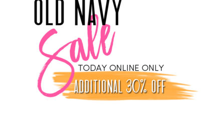 OLD NAVY SALES + ADDITIONAL 30% OFF no code needed